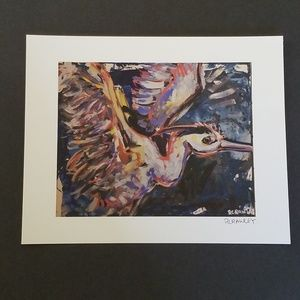 Taking Flight! Print of Original Artwork